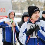 На базе лицея прошли областные соревнования по лыжным гонкам среди медиков